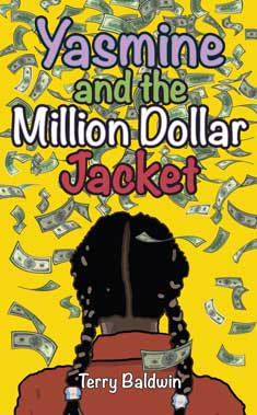 cover of yasmine adn the million dollar jacket by terry baldwin